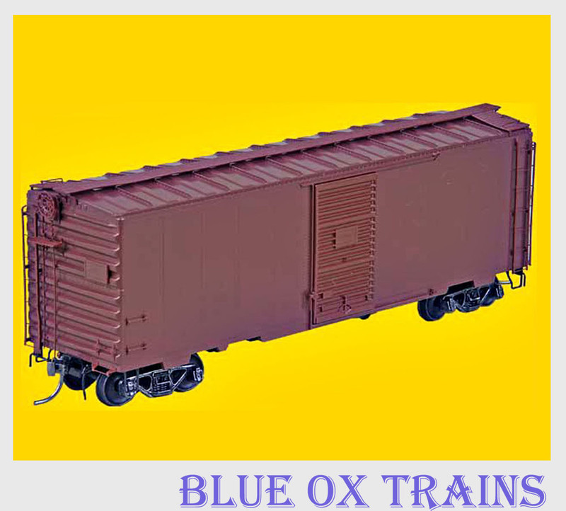 KADEE 4000 K36 40' PS-1 UNDECORATED BOXCAR RED 6' DOOR HO Scale
