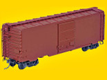KADEE 5199 K50 RTR 40' PS-1 Undecorated Boxcar Painted (Oxide Red) 8' DOOR
