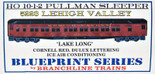 BRANCHLINE HO 10-1-2 PULLMAN Lehigh Valley Lake Long LV Kit 5223