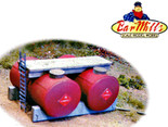 BAR MILLS HO Twin Horizontal Fuel Tanks Kit #2003