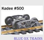 "Kadee HO Scale Bettendorf Trucks 33"" Smooth Back Wheels #500"