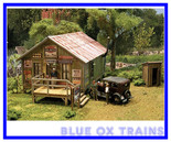 Blair Line HO Scale SAM'S ROADHOUSE Laser Cut Kit 2003