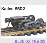 Kadee 502 HO Scale Bettendorf Double Truss Freight Trucks