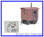 Kadee HO Industrial Logging Caboose Kit 104