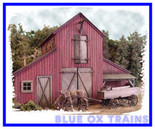 Bar Mills 502 The Barn At Jackson Corners Ho Scale Laser-cut Kit 502