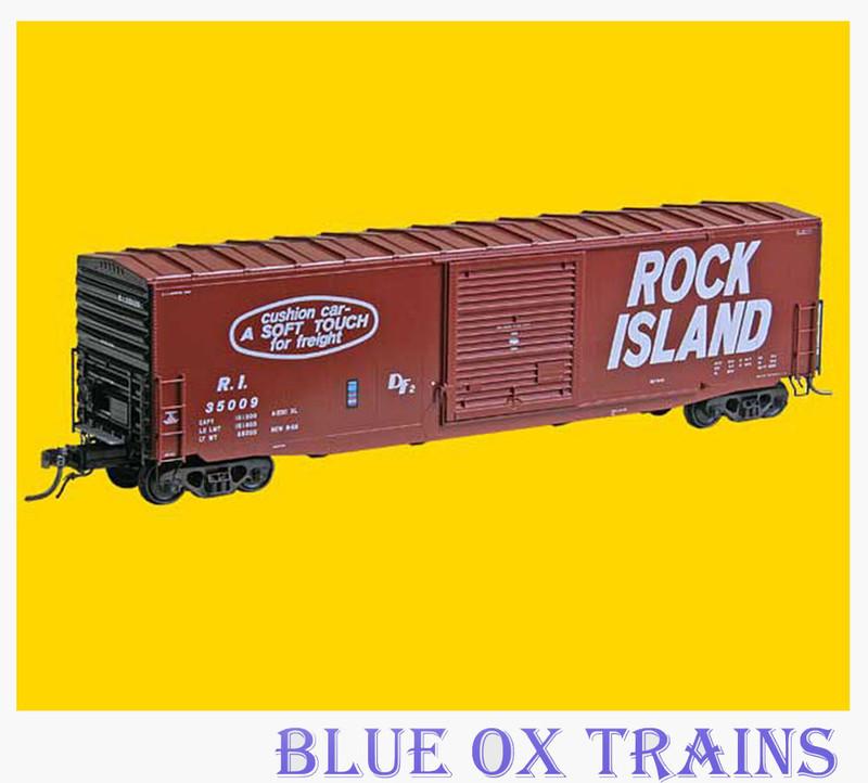 KADEE 6353 K60 50' PS-1 Boxcar Rock Island RI 35009 HO Scale