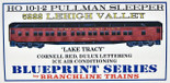 BRANCHLINE 5222 HO Lehigh Valley 10-1-2 PULLMAN LAKE TRACY LV KIT