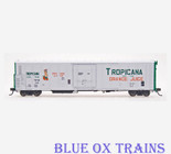 Red Caboose HO 34813G Tropicana Orange Juice R-70-15 Reefer  (Mint Error)