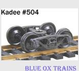 KADEE HO ASF A-3 Ride Control 50 Ton Trucks #504