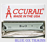 Accurail HO ACF 3-Bay Covered Hopper Baltimore Ohio B&O Kit 2075