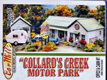 BAR MILLS HO Collard Creek Motor Park Laser-cut Kit #872