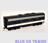 InterMountain HO Southern F7B Locomotive 4418 (Black) Powered 49578-03