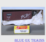 Roundhouse HO 1109 Frisco 40' Modern Box Car SLSF 20151 Kit