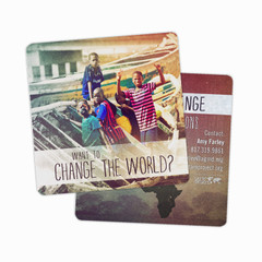 Prayer Card Coasters
