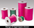 legal tape / green / pink / tape / legal / legal ribbon /