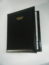 Deluxe Leather Company Kit/ Company kits/ Statutory Register/ Corporate Kit / Company Register. Used to keep all your Statutory Registers filed neatly for compliance.