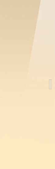 Classic Glass Pocket Door System Coloured BEIGE (RAL 1015)