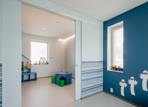 ... Using An Eclisse Syntesis® Flush Double Pocket Door System You Can  Create An Open Plan ...