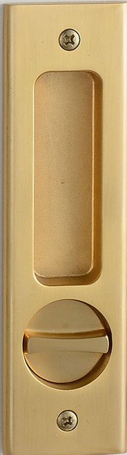 Eclisse Pocket Door Bathroom Lock  Oblong