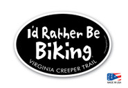 I'd Rather Be Biking Virginia Creeper Trail