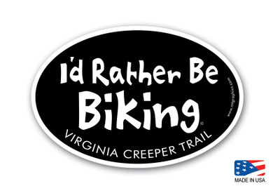 I'd Rather Be Biking Virginia Creeper Trail