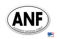 Allegheny National Forest Sticker