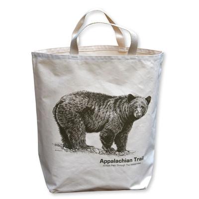 Appalachian Trail Black Bear Tote Bag