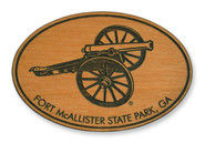 Wholesale Cannon Wooden Magnet