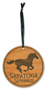 "3"" Horse Running Ornament"