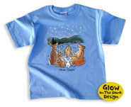 Star Gazing Kids' Camping T-Shirt