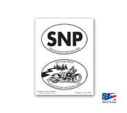 2UP Shenandoah National Park, Skyline Drive Sticker