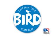 Cape May Bird Sticker