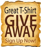Great Tee Shirt Giveaway