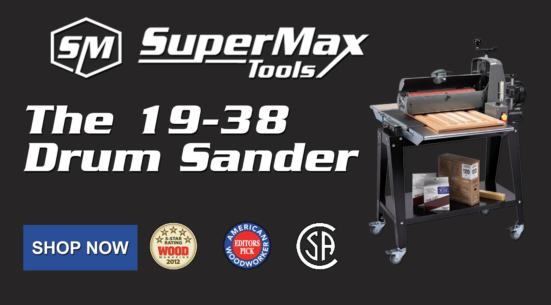 The 19-38 Drum Sander