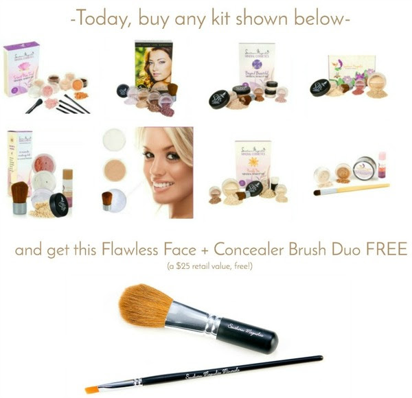 Buy Makeup Kit Get Brush Duo FREE!