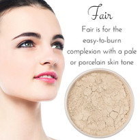 Fair - Full Coverage Matte Mineral Foundation | Titanium-Free