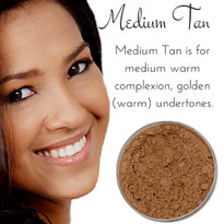 Medium Tan - Full Coverage Matte Mineral Foundation | Titanium-Free