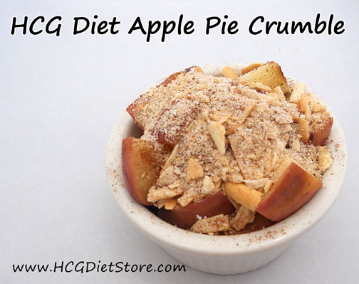 Apple Pie recipe for HCG P2!!!! Can you believe your eyes! This HCG recipe is amazing and safe for Phase 2 of the HCG Diet!