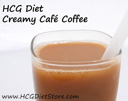 Flavored stevia can make all the different in a simple coffee drink... try this HCG recipe today!