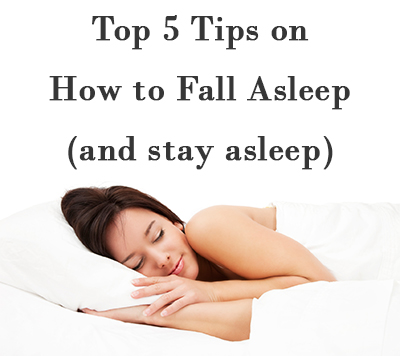 Learn the best ways to fall asleep fast and stay asleep all night!