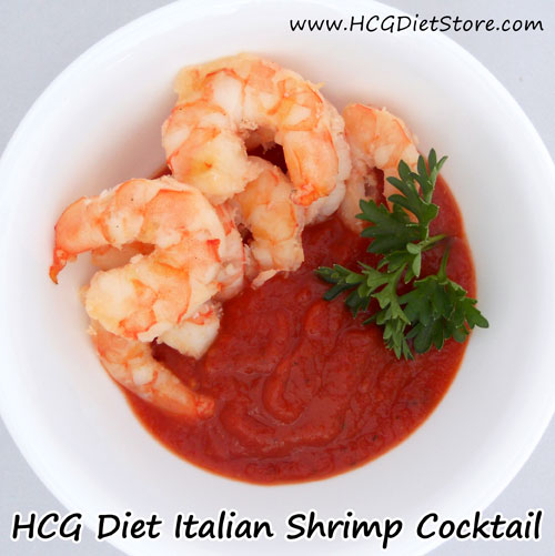 We love this shrimp cocktail HCG recipe... we hope you do too!