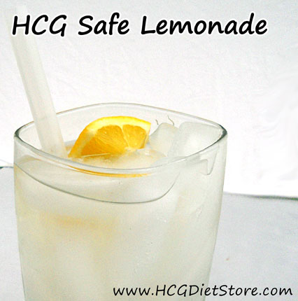 Perfect refreshing drink for phase 2 of the HCG Diet!