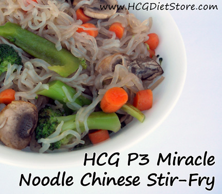 Miracle Noodles Recipes are perfect for low-carb diets (and p3 of the HCG diet) because they are super low carb.