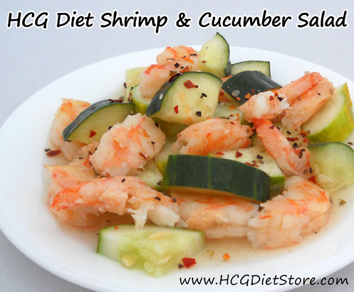 This simple HCG recipe has a kick of red pepper flakes to WAKE UP your taste buds!