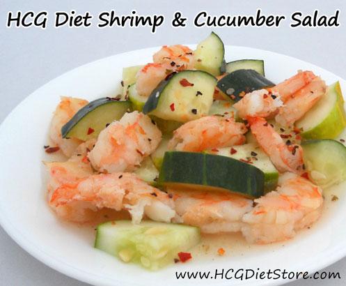 health conscious guru diet shrimp cucumber salad 100 g shrimp cooked 2 ...