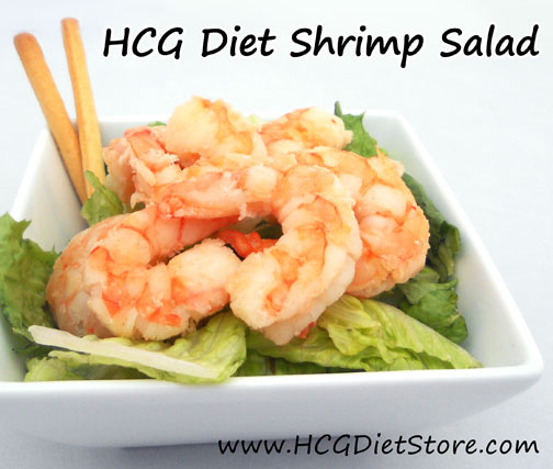 Try this shrimp salad HCG recipe... you will <3 it!
