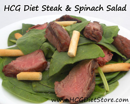 Salads can be boring while on HCG phase 2... switch it up with this yummy HCG recipe!