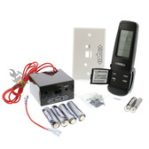 Smart Batt III Heat-n-Glo Fireplace LCD Thermostatic Timer Remote Control