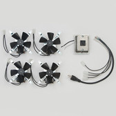 Montigo RFK1006 Fireplace Fan Blower Complete Kit