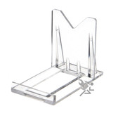 "Small 2"" Two Piece Adjustable Display Stand Easels"